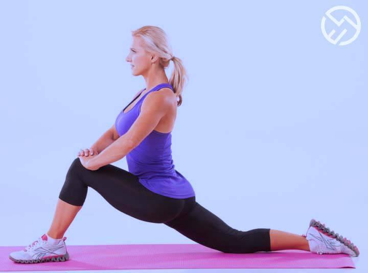 como hacer la extension de rodilla