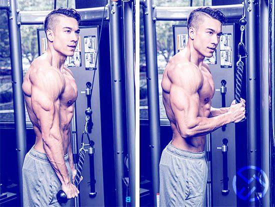 los mejores ejercicios para fuerza de triceps