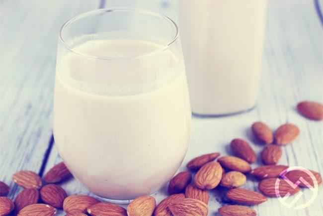 como hacer leche de almendras casera