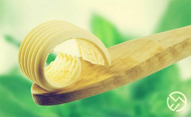 los beneficios de los acidos grasos de la mantequilla