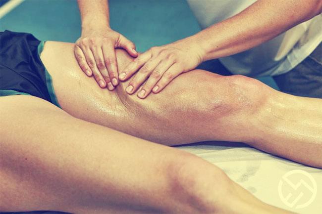 Tratamiento para piernas cargadas