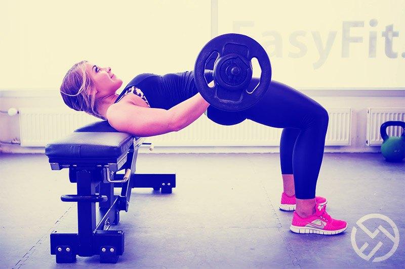 como se hace el hip thrust