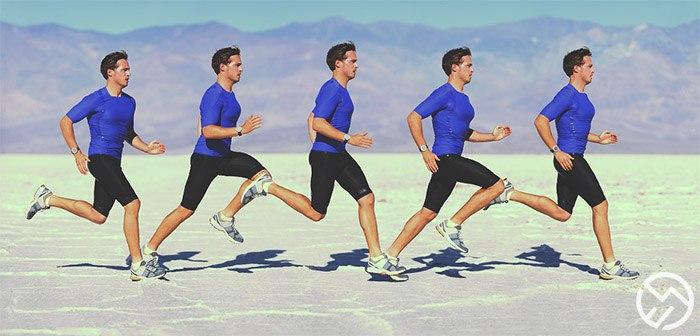 la postura que debemos llevar cuando salimos a hacer running