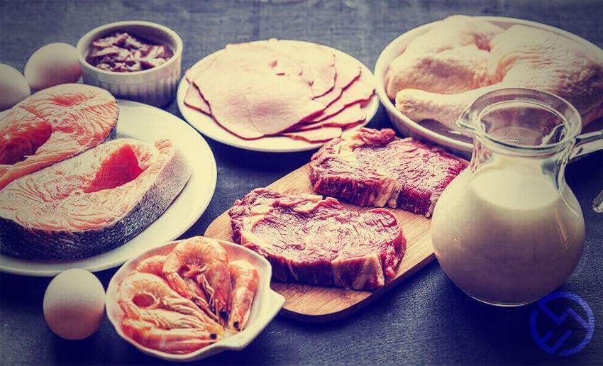 alimentos que contienen glutamina y creatina