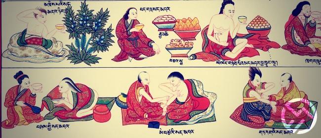 masaje tibetano paso a paso