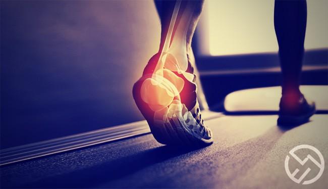como apoyar el pie al correr
