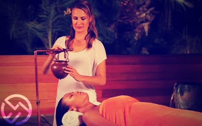 masaje ayurvedico shirodhara