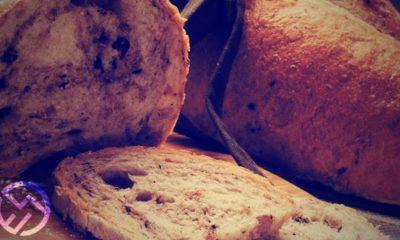 como hacer pan de aceitunas y romero