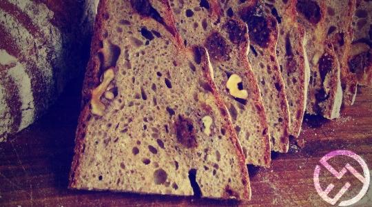 Pan de cereales con trigo sarraceno
