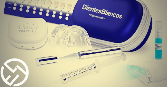 kit blanqueamiento dental laser