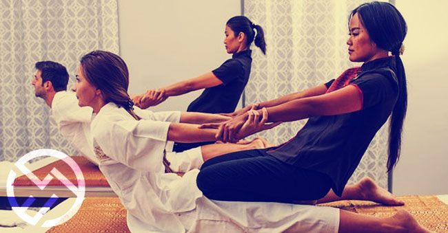 tipos masaje tailandia