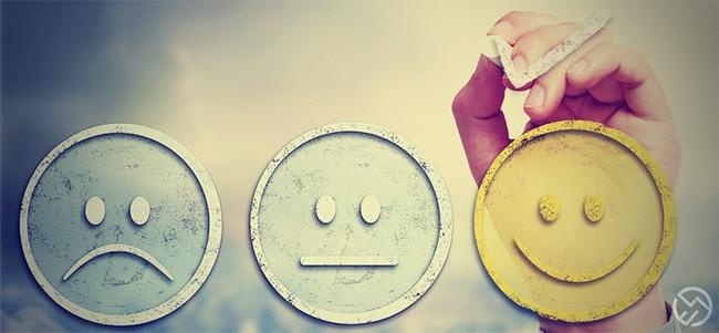 cambiar los mensajes negativos en positivos