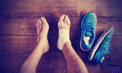 principales causas de lesiones en el pie y en el tobillo