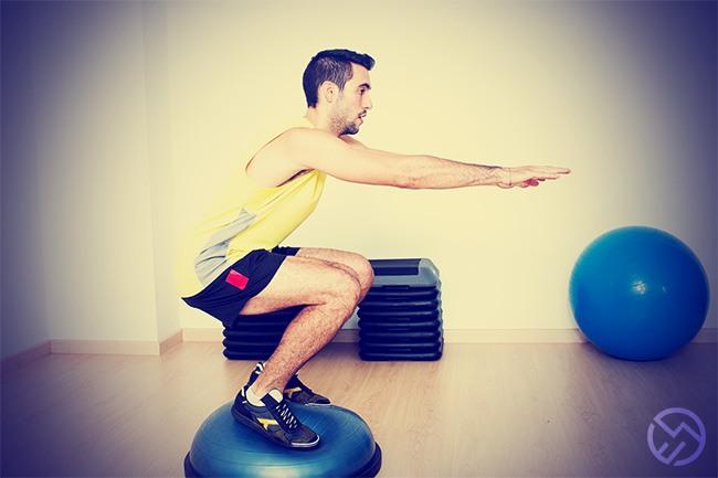 ejercicios para rodilla y tobillo