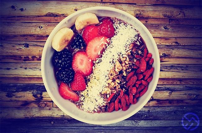 dieta para corredores de montaña