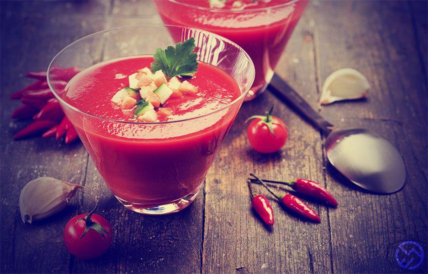 receta facil y fresca de gazpacho alternativo