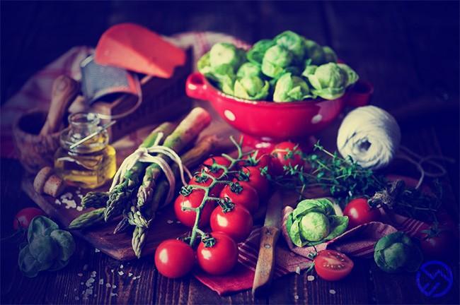 vegetales hidratos y proteinas
