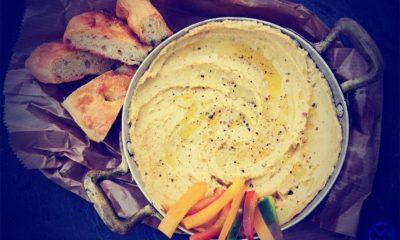 Rica receta de hummus con curry