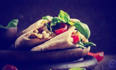 receta facil de burritos veganos sin carne
