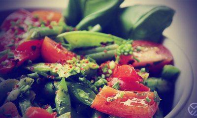 ensalada fria con judias verdes