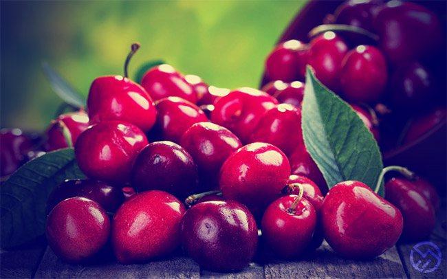 Cereza, la mejor fruta para corredores