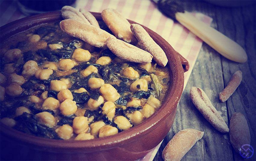 Garbanzos con espinacas: Receta de potaje fácil, sencilla y deliciosa