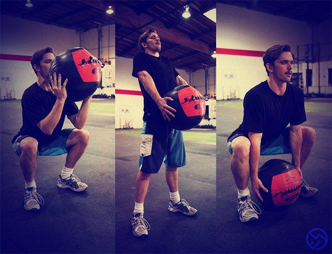 que musculos estan implicados en el slam ball
