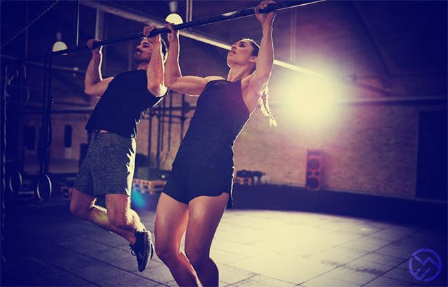 Dominadas, kipping y butterfly pull-ups