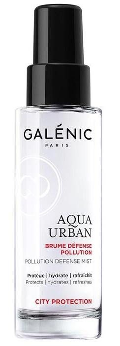 Las mejores brumas Aqua Urban de Galénic protección urbana