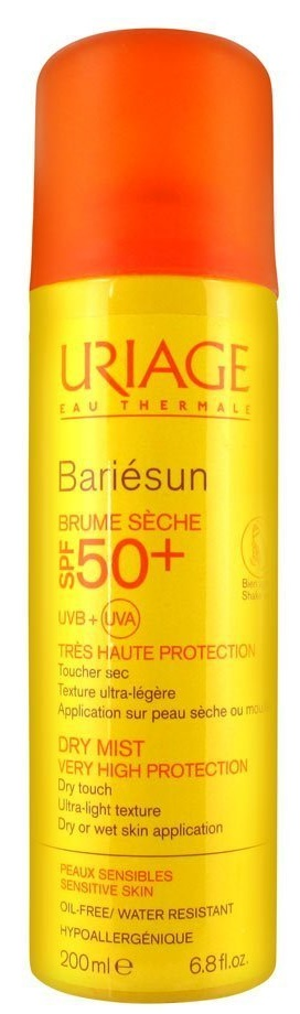 Las mejores Brumas Faciales - Uriage Bariésun Bruma Spf50+