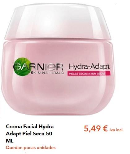 Crema Facial Garnier Piel Seca