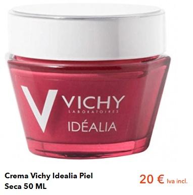 Vichy Idéalia para pieles secas