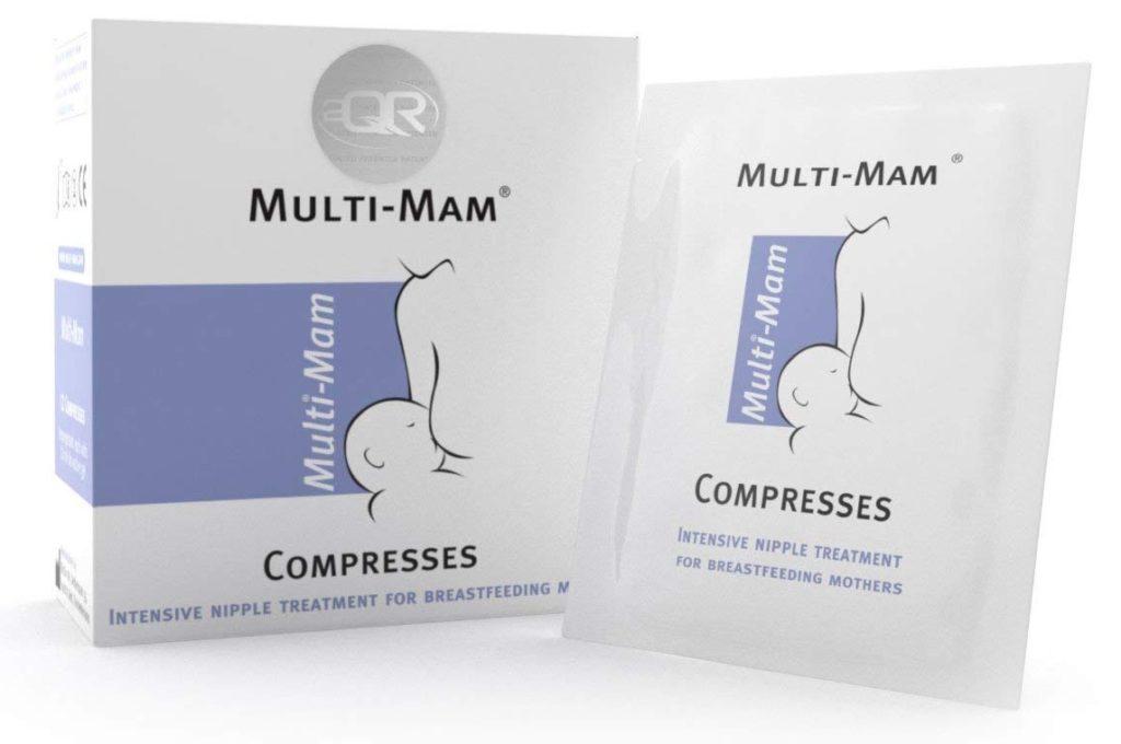 Compresas para el tratamiento de los pezones Multi-Mam