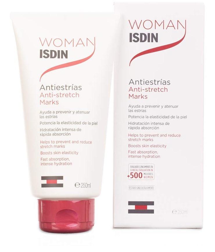 Las mejores cremas antiestrías Woman ISDIN Antiestrías
