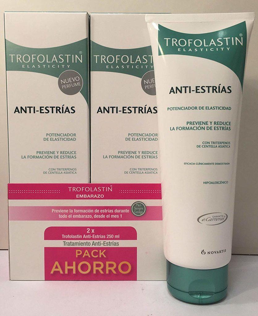 Las mejores cremas antiestrías Trofolastin Antiestrías