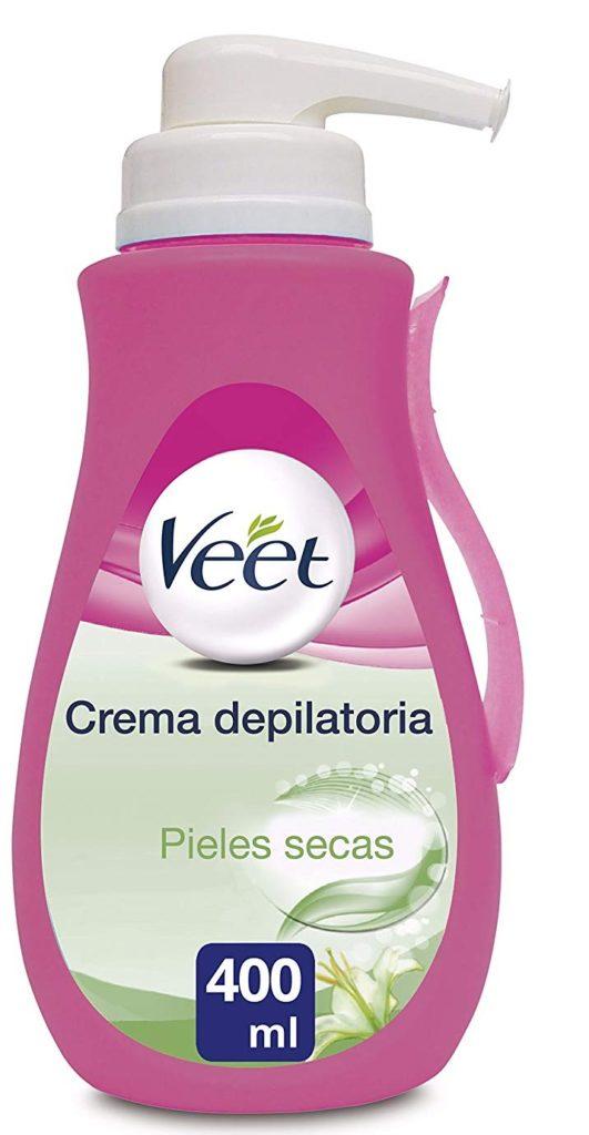 Veet Crema Depilatoria para pieles secas