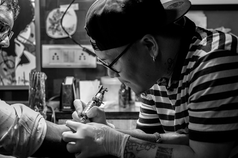 Cada tatuador recomendará la crema más indicada