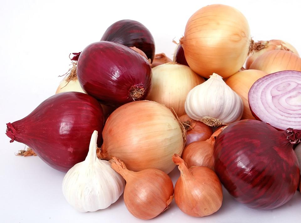 diferentes tipos de cebollas