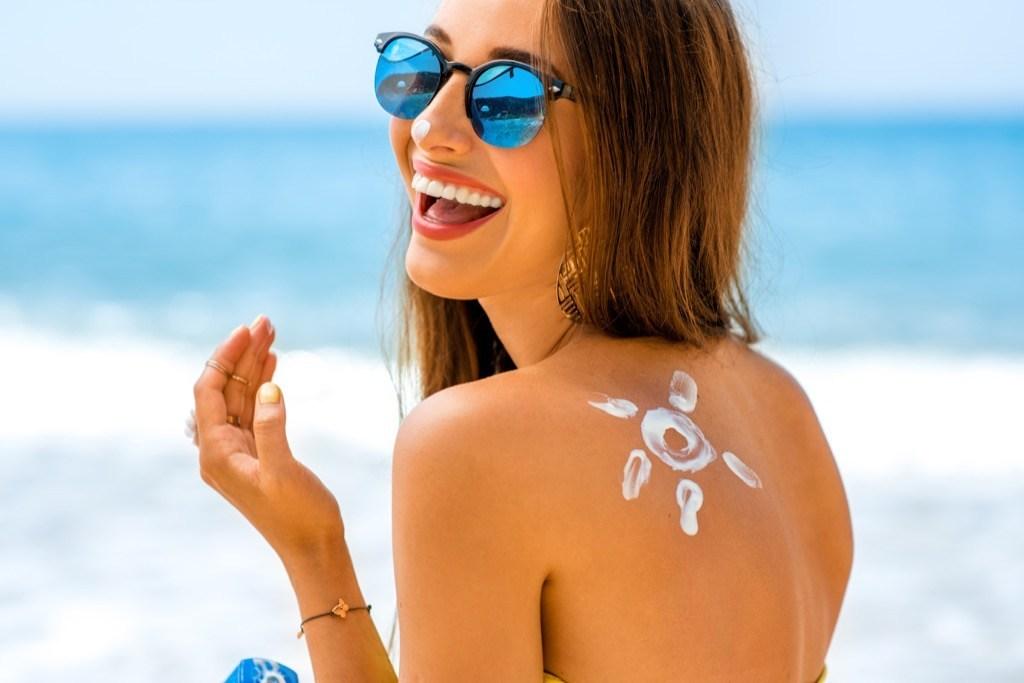 aplicar protector solar