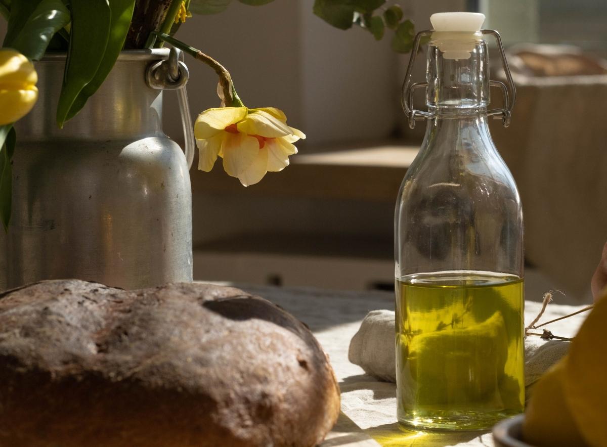 aceite de oliva estrías