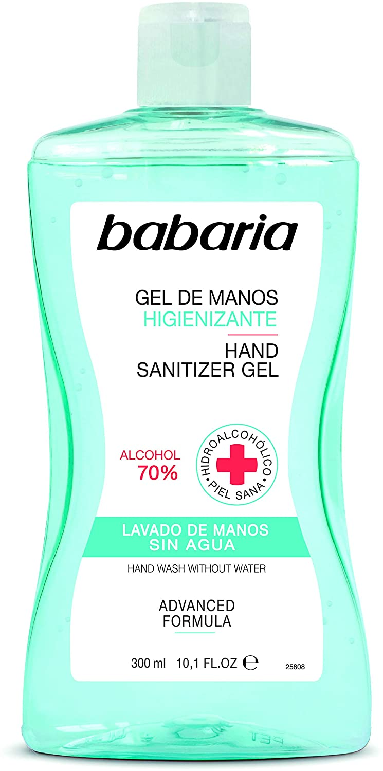 gel hidroalcoholico babaria