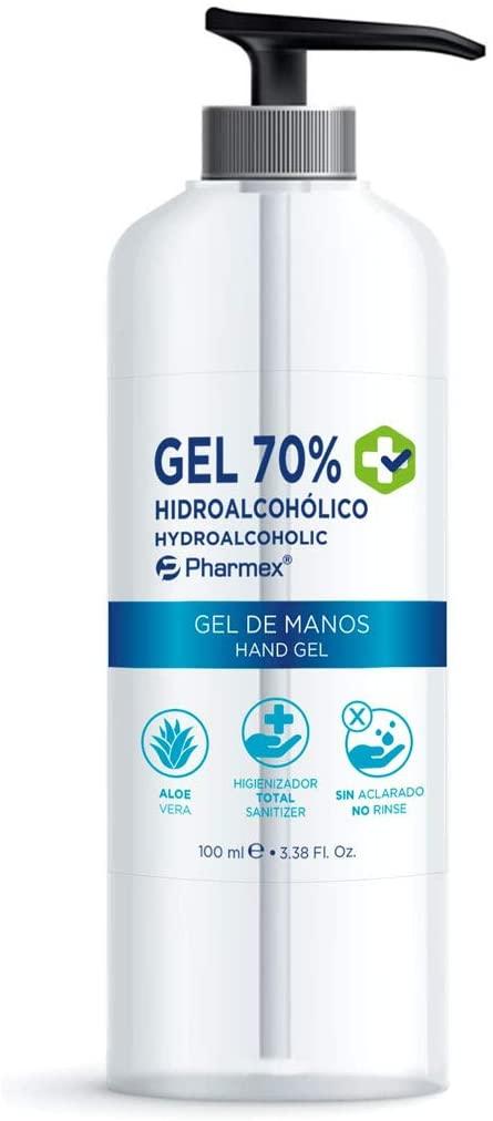 gel hidroalcoholico pharmex