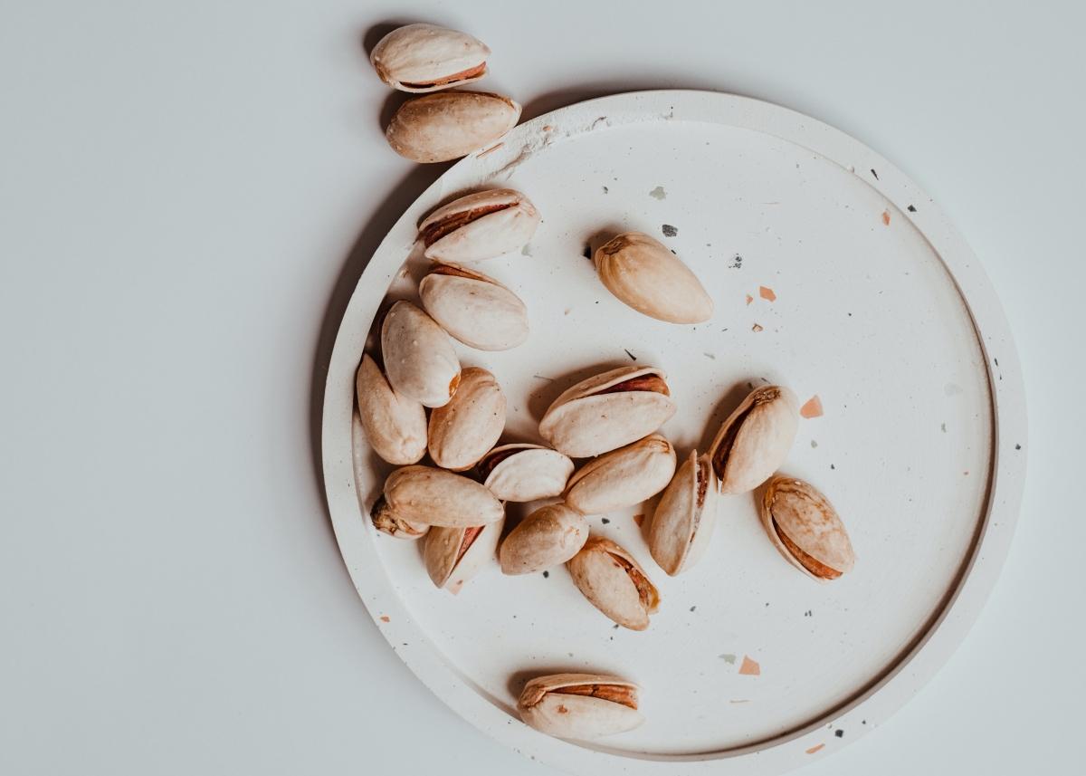 pistachos pelo seco